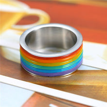 Load image into Gallery viewer, Rainbow Pride Ring
