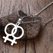 Load image into Gallery viewer, Pride Women Pendant Necklace
