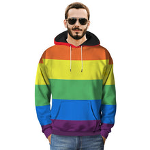 Load image into Gallery viewer, Pride Rainbow Hoodie (Unisex)