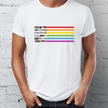 Load image into Gallery viewer, Pride Lightsaber T Shirt