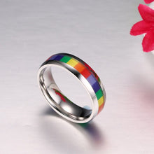 Load image into Gallery viewer, LGBT Pride Ring
