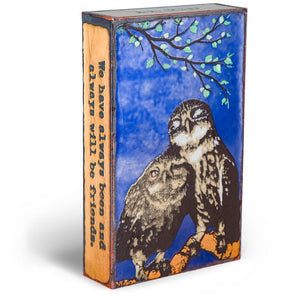 Feathered Friends Spirit Tile