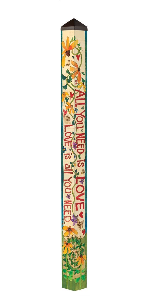 All You Need is Love (6' Art Pole)