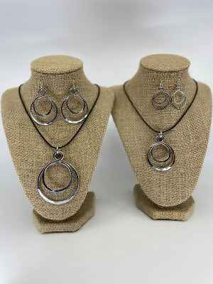 Circle Double Earrings By The Artist Jay