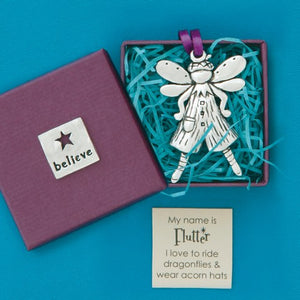 Flutter Fairy Ornament