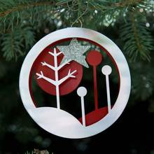 Retro Forest Ornament