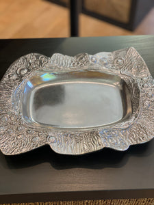 Don Drumm Platter Ruffle Server