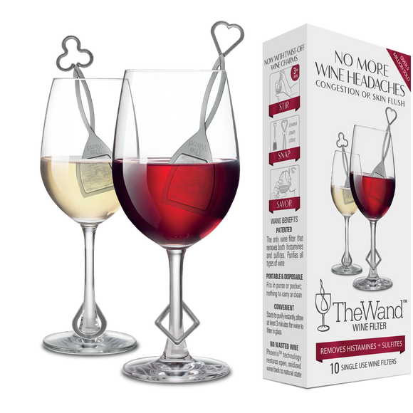 The Wand Wine Purifier, 4-Pack