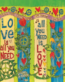 "Love is All You Need (20"" Art Pole)"
