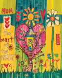 "Heart of the Family (20"" Art Pole)"