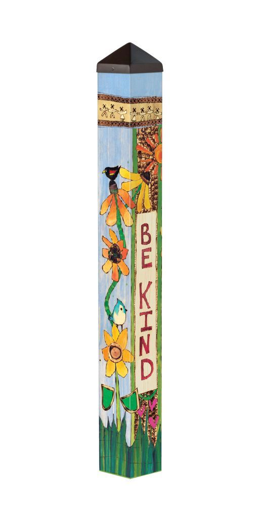 Be Kind (3' Art Pole)