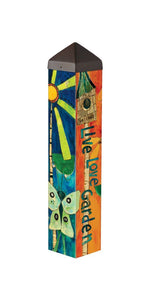 "Love Garden (20"" Art Pole)"