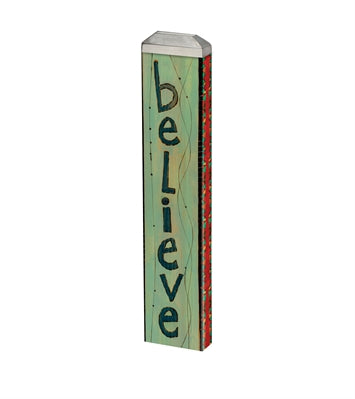 Believe Mini Art Pole 13