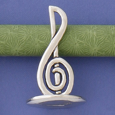 Treble Clef Ring Holder