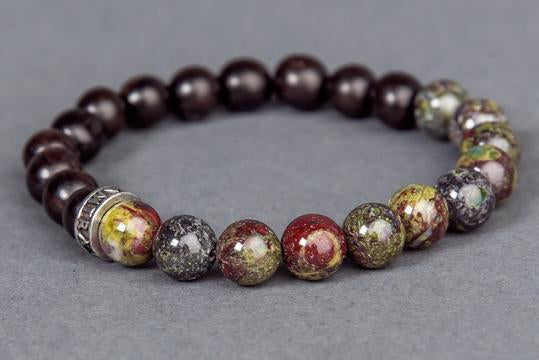 Dragon Blood Stone Bracelet