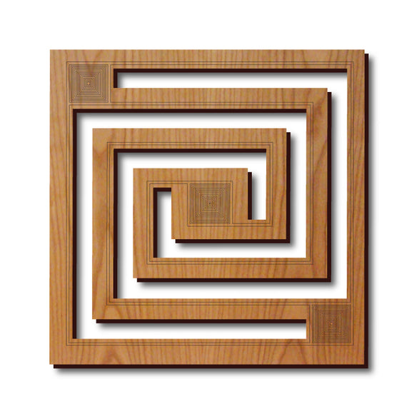 Frank Lloyd Wright Trivet - Whirling Arrow