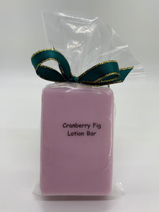 Cranberry Fig Lotion Bar