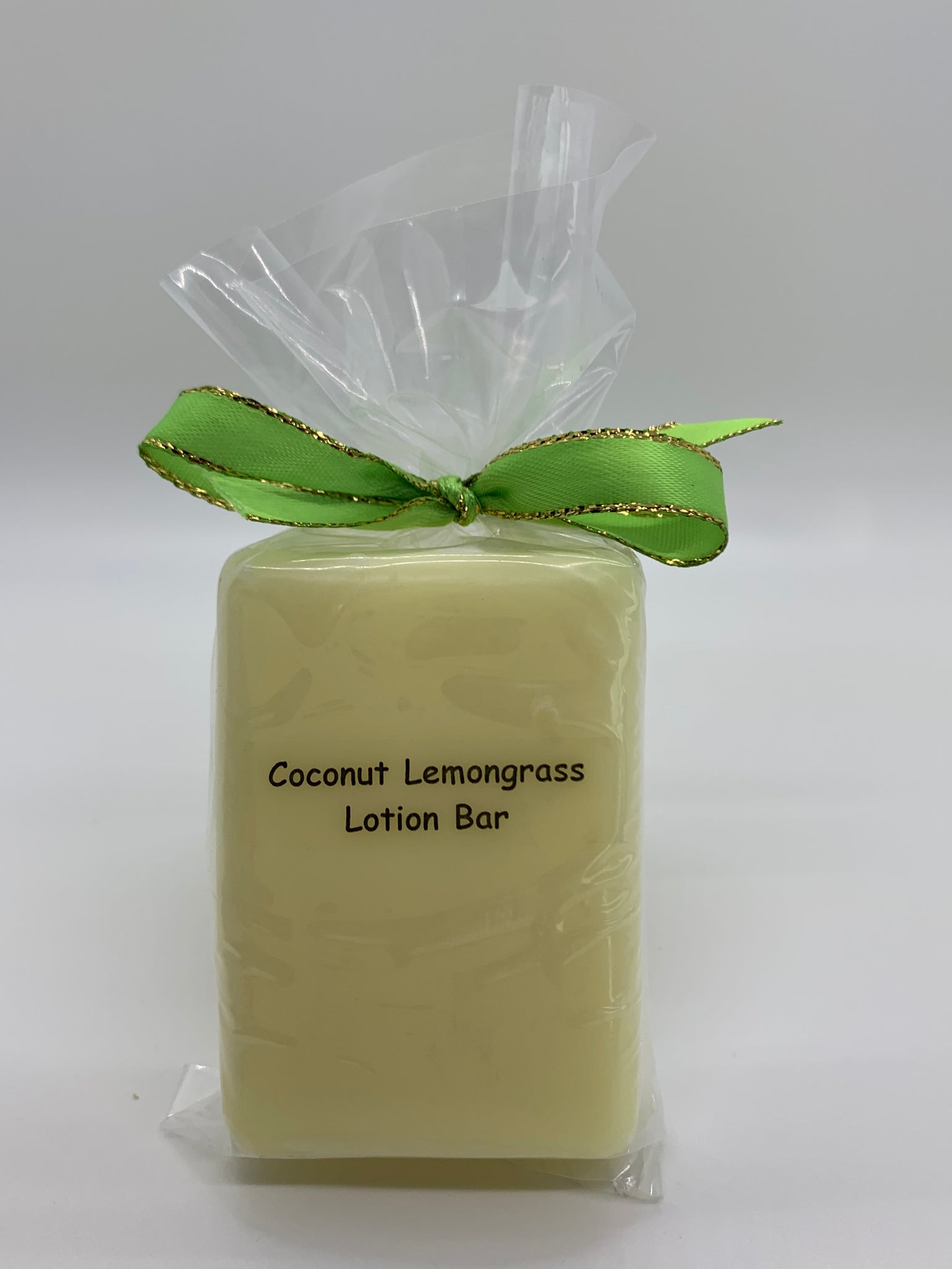 Coconut Lemongrass Lotion Bar