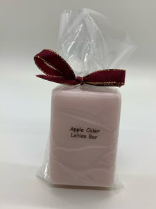 Apple Cider Lotion Bar