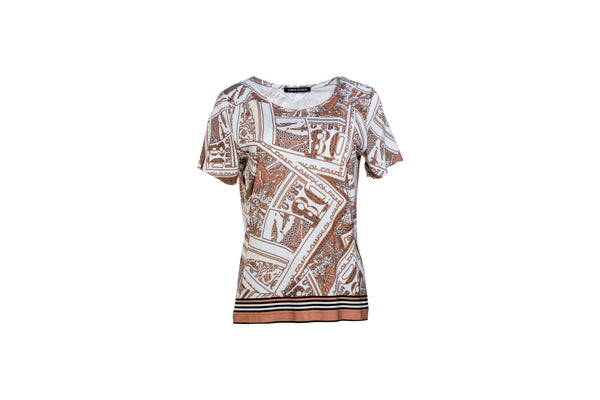 1/2-Arm-Shirt mit Allover-Print