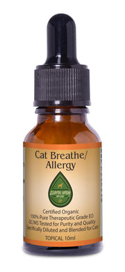 cat breathe/allergy topic 10ml for seasonal allergies and breathing problems