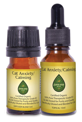 Cat Anxiety/Calming Combo Pack w/Collar Diffuser & Travel Case