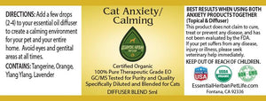 Cat Anxiety/Calming-Diffuser Blend - 5ml