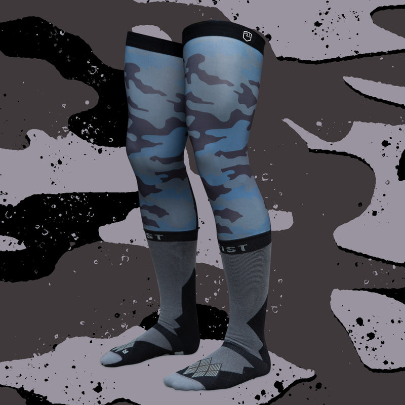 COVERT CAMO KNEE BRACE SOCKS