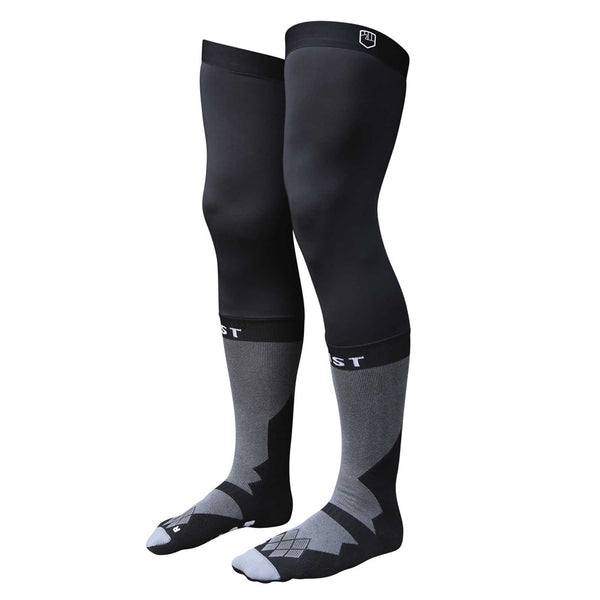 BLACK KNEE BRACE SOCK