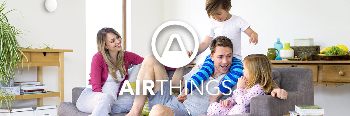 Airthings banner med Wave Mini