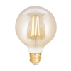 LED Filament Tunable Whites + Dimmable G95 E27 Amber