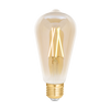 LED Filament Tunable Whites + Dimmable ST64 E27 Amber