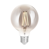 LED Filament Tunable Whites + Dimmable G95 E27 Smoky