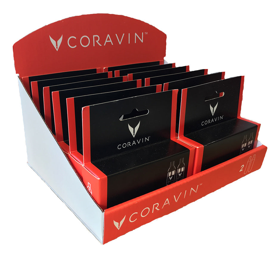 Coravin Capsules - (12 x 2-pack with Display)