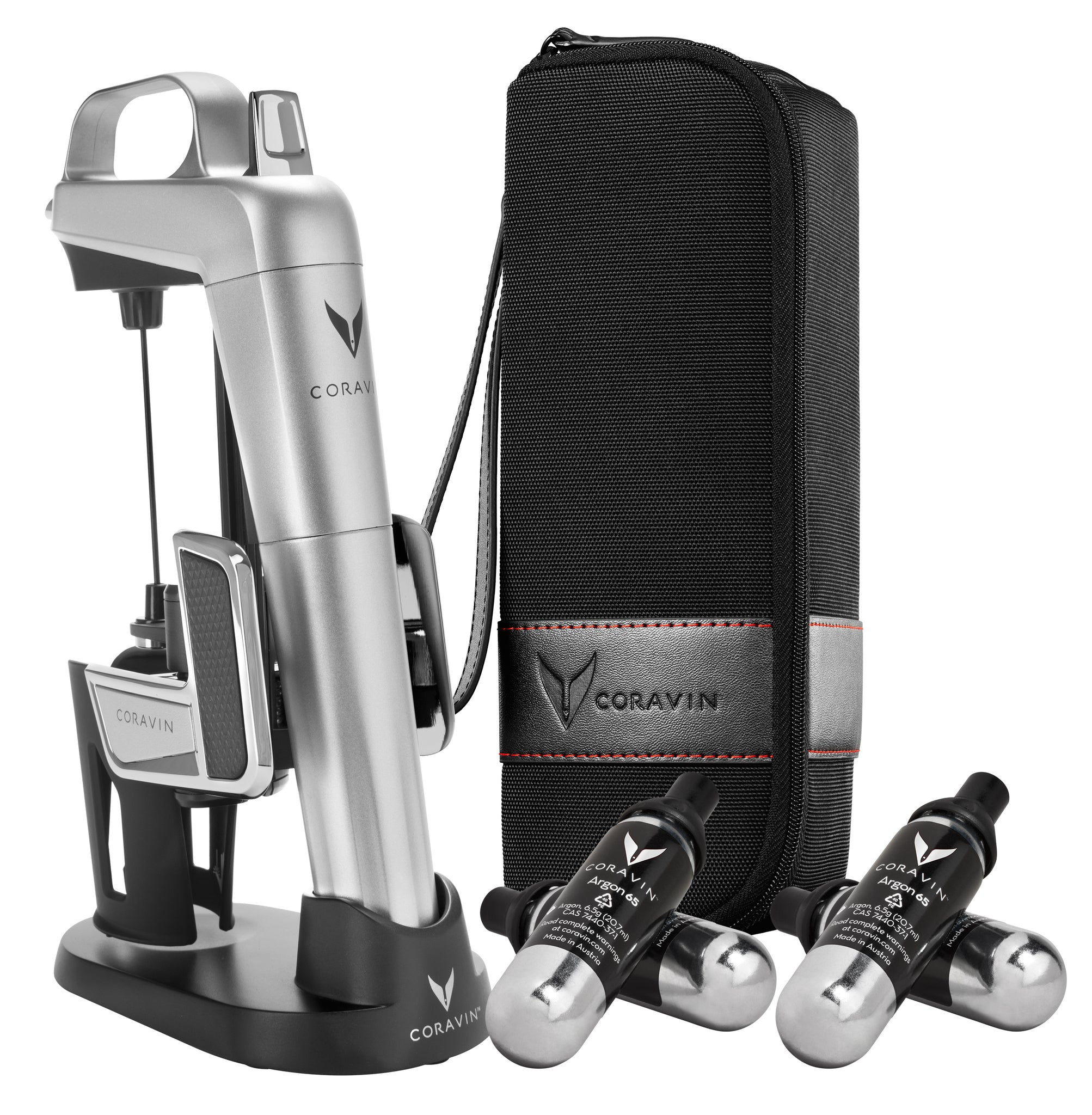 Coravin Model Two Elite Pro Silver