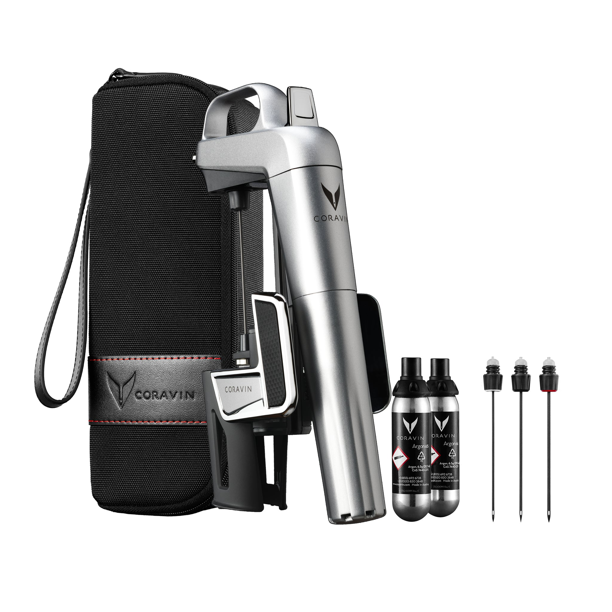 Coravin Model Two Elite Plus Pack Silver