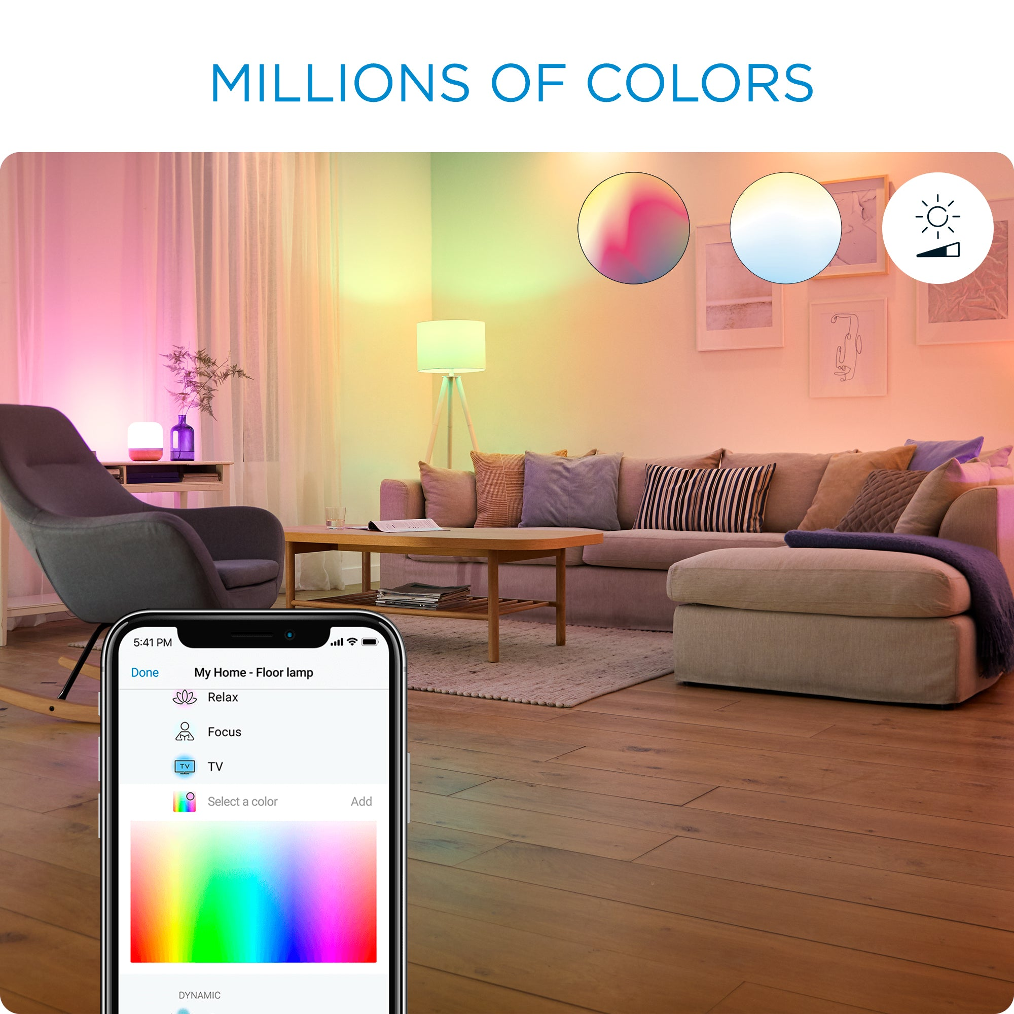WiZ Colors Wi-Fi A60 E27