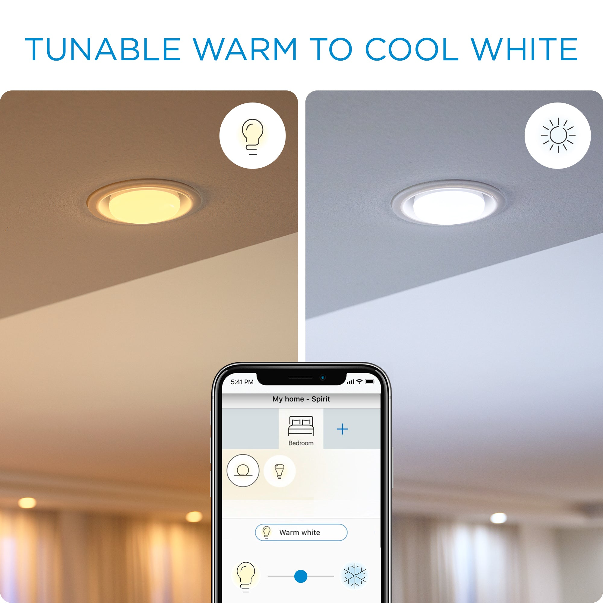 WiZ Tunable White Wi-Fi A67 E27