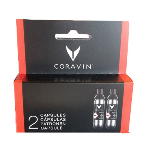 Coravin Gas Capsules 2-pack