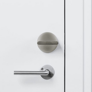 Friday Smart Lock Shell Nickel Satin