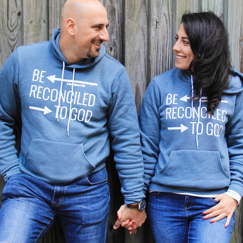 Be Reconciled to God Christian hoodie