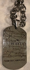 NC Dog Tag Necklace