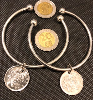 Val's Coin Bangle