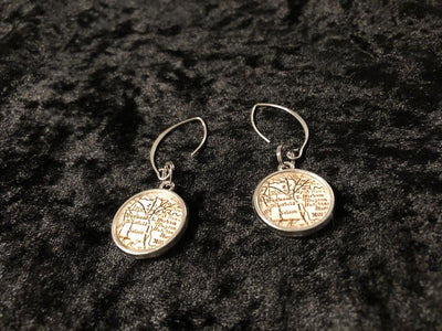 Durham (Adshusheer) Map Earrings - LenaGrace Designs