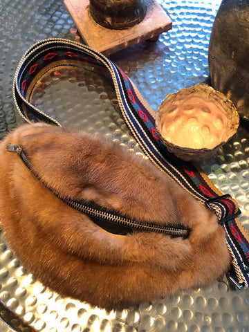 Fur Fox Cuffs Yellow