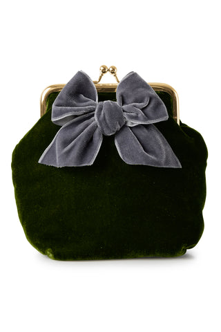 Sonja Love Velour clutch - Lavendel