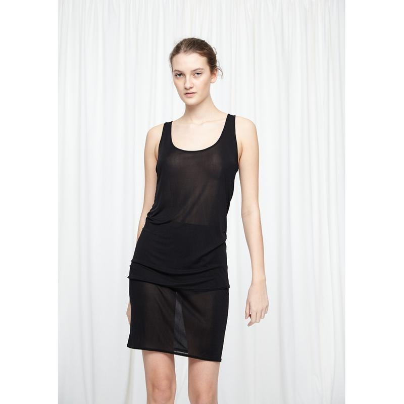 Sporty Skirt Mulberry Silk- SEAMLESS BASIC