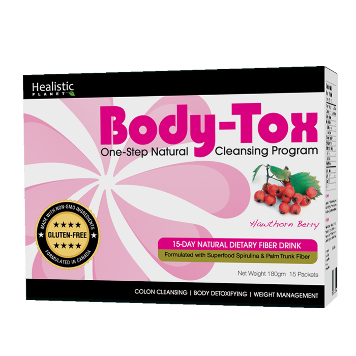 Body-Tox 15 Day Cleansing Program - (Hawthorn Berry)
