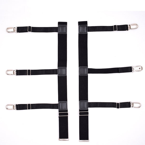 Shirt Stay Adjustable Leg Suspenders-Shopplicity