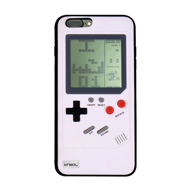Retro Gameboy Tetris Phone Case for iPhone-Shopplicity